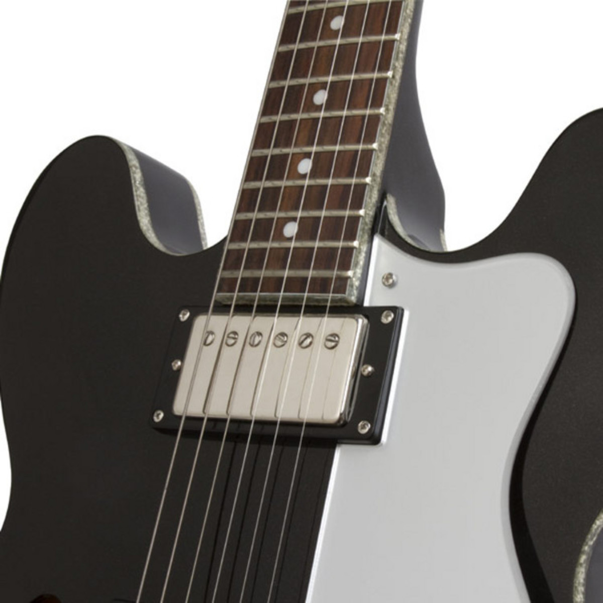 Epiphone Limited Edition Dot Electric Guitar, Black Royale