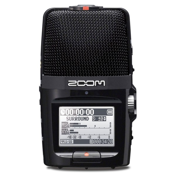 Zoom H2n Handy Digital Audio Recorder - Front