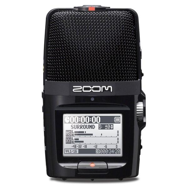 Zoom H2n Handy Digital Audio Recorder - Front