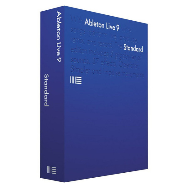 Ableton Live 9 Standard Music Software