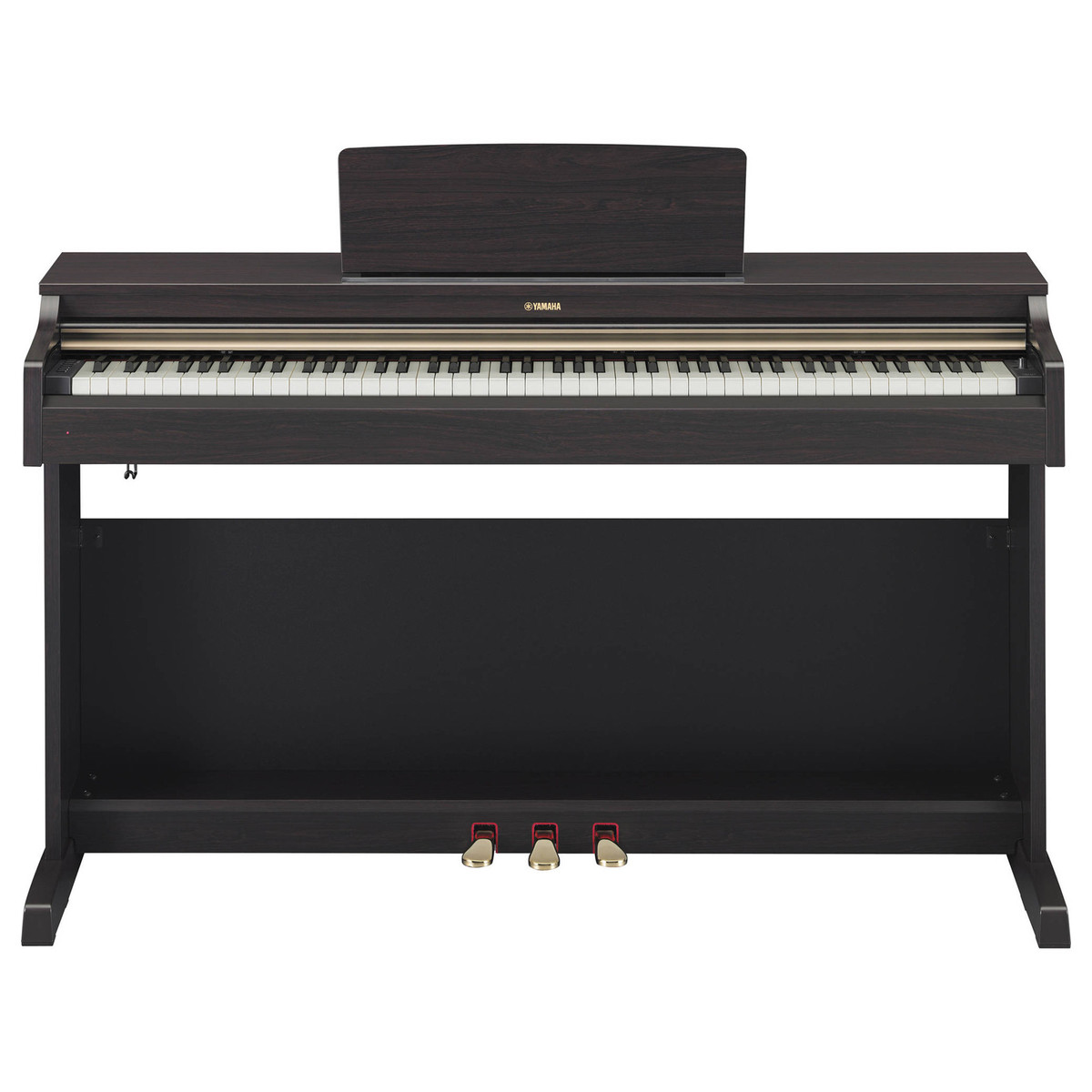 Yamaha arius ydp162 digital piano dark rosewood at for Yamaha ydp 162 digital piano