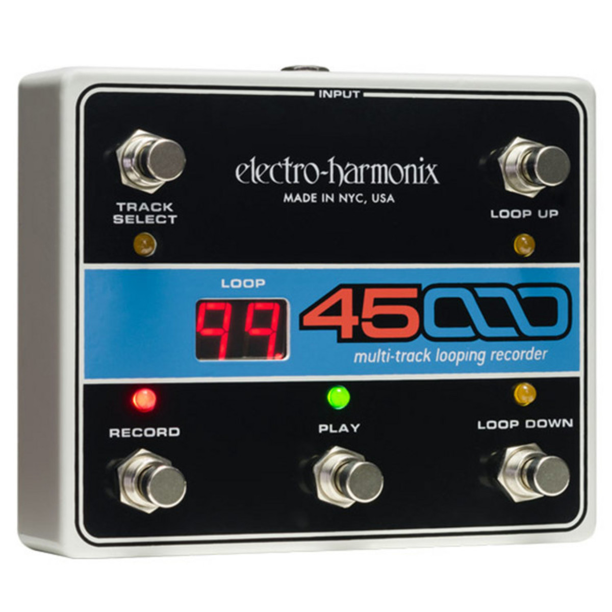 Click to view product details and reviews for Electro Harmonix 45000 Foot Controller.