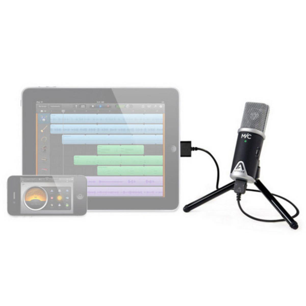 Apogee MiC USB Microphone for iPad, iPhone and Mac Nearly