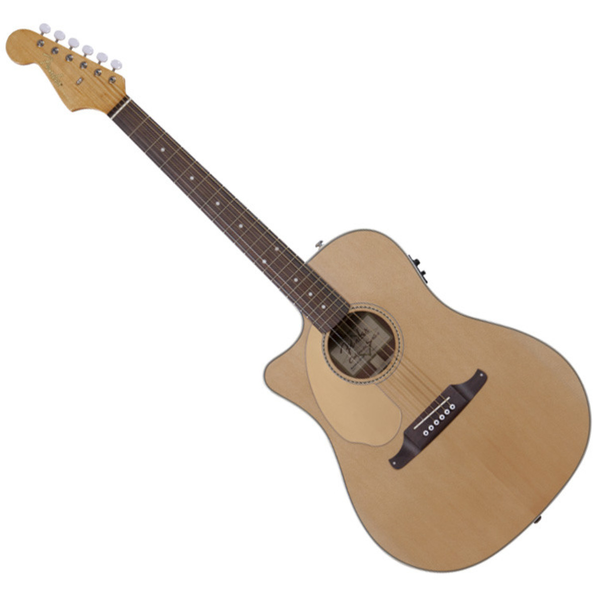fender sonoran sce left handed electro acoustic guitar natural at gear4music. Black Bedroom Furniture Sets. Home Design Ideas