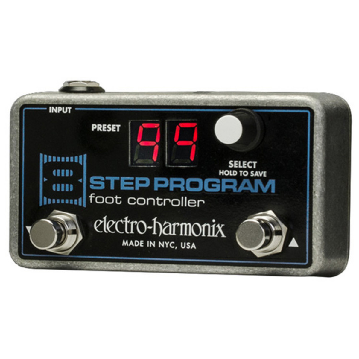 Click to view product details and reviews for Electro Harmonix 8 Step Program Foot Controller.