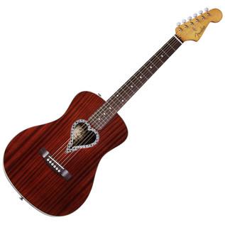 Fender Alkaline Trio Malibu Folk Acoustic Guitar, Natural