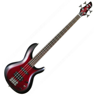 Aria IGB Standard Bass Guitar, Red Shade
