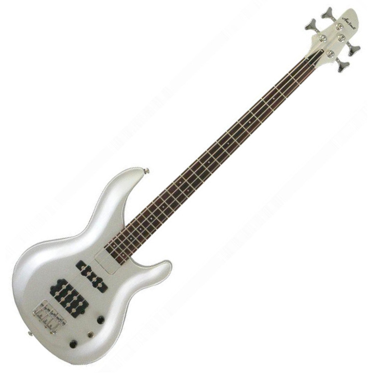 aria igb standard bass guitar pearl white at. Black Bedroom Furniture Sets. Home Design Ideas