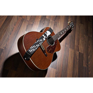 Fender Tim Armstrong Hellcat Electro Acoustic Guitar, Natural with Strap