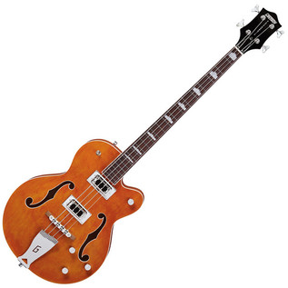 Gretsch G5440LS Electromatic Hollowbody Long Scale Bass, Orange