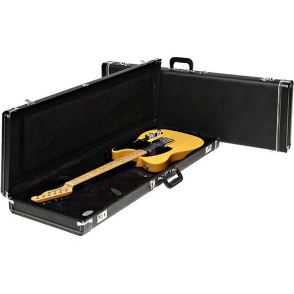 Fender Multi-Fit Guitar Case for Mustang/Jag-Stang/Cyclone, Black