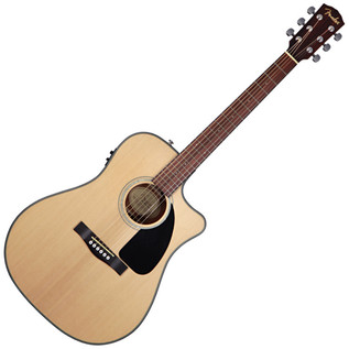 Fender CD-100CE Dreadnought Cutaway Electro Acoustic Guitar, Natural
