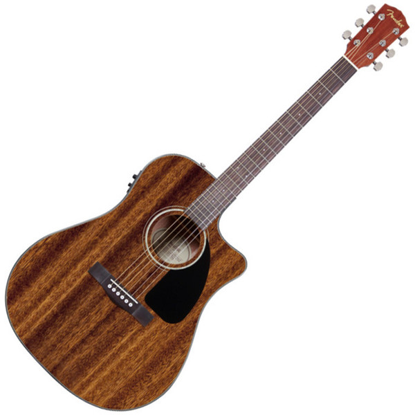Fender CD-60CE All-Mahogany Dreadnought Electro Acoustic Guitar