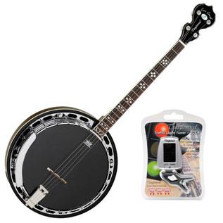 Tanglewood TWBPRO4 Banjo, Maple + FREE Tuner