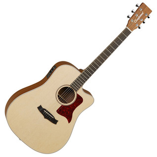 Tanglewood TW15OPCE Electro-Acoustic Cutaway, Natural + FREE Tuner