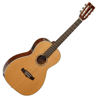 Tanglewood TW73E Parlour Electro-Acoustic, Natural + FREE Tuner