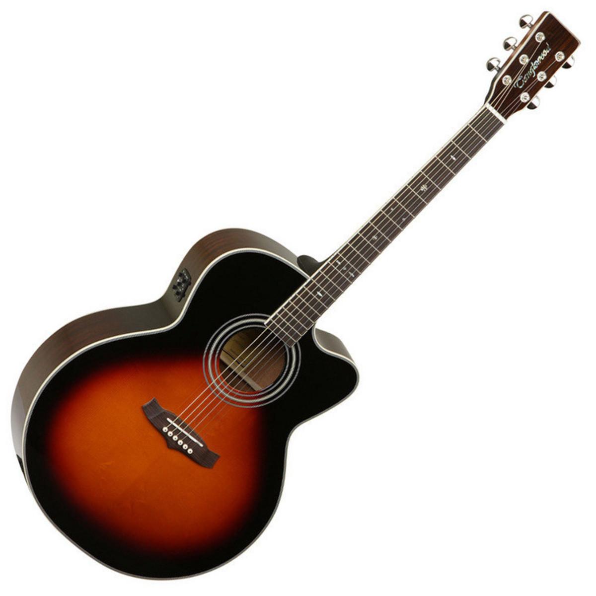 disc tanglewood tw55 acoustic guitar vintage sunburst free tuner at gear4music. Black Bedroom Furniture Sets. Home Design Ideas