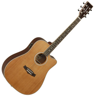 Tanglewood Evolution TW28 CSN Cutaway Dreadnought + FREE Tuner