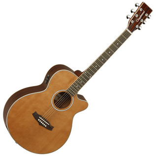 Tanglewood Evolution TSFCEN Folk Cutaway, Natural