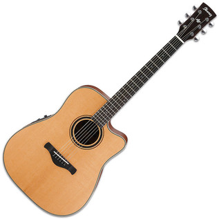 Ibanez AW250ECE Artwood Series Electro Acoustic Guitar, Low Gloss