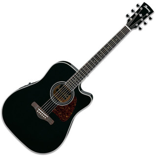 Ibanez AW70ECE Artwood Electro Acoustic Guitar, Black