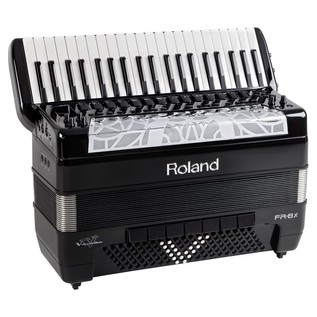 Roland FR-8x V-Accordion, Piano-Type, Black