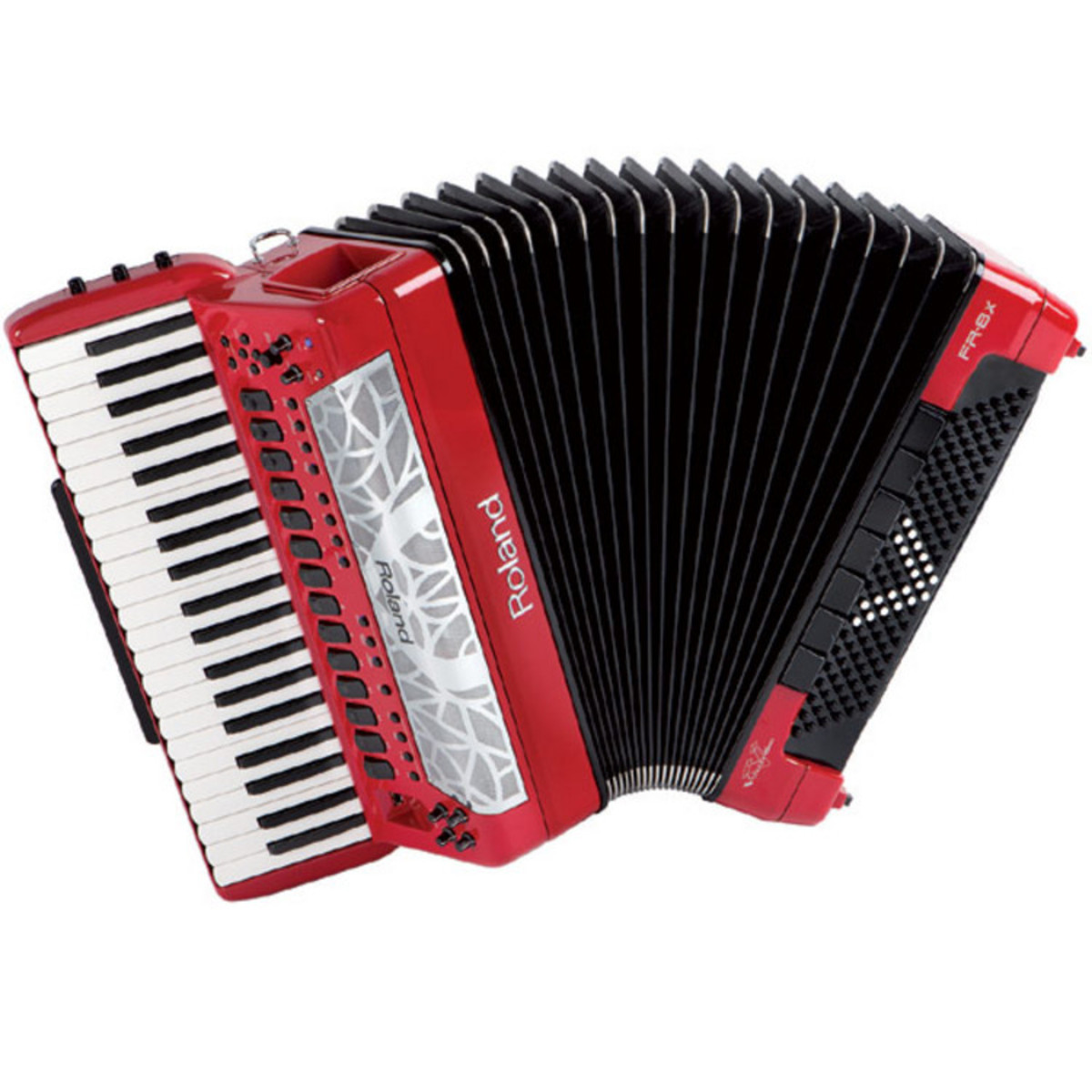 roland fr 8x v accord on de type piano rouge gear4music. Black Bedroom Furniture Sets. Home Design Ideas