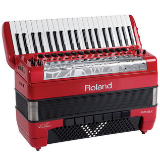 Roland FR-8x V-Accordion, Piano-Type, Red