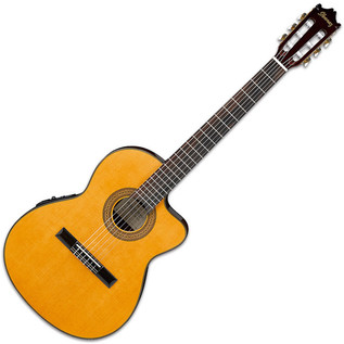 Ibanez GA5TCE Electro Classical Guitar, Amber