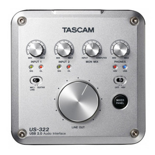 Tascam US-322 USB Interface