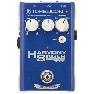 TC-Helicon Harmony Singer Vocal Effects Pedal - top