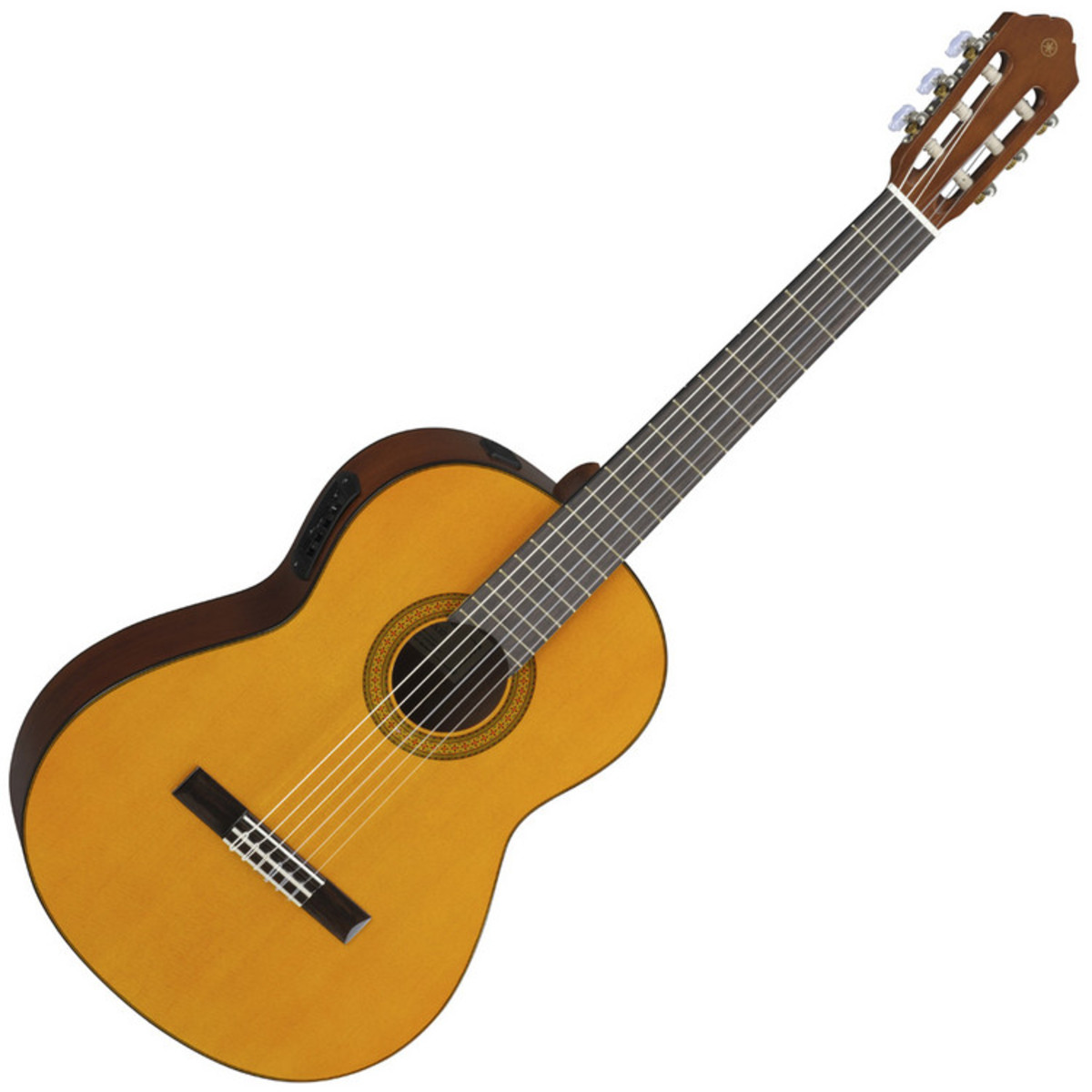 Yamaha cgx102 electro classical guitar at for Yamaha classic guitar