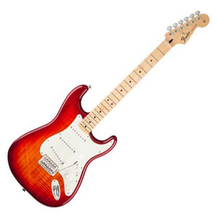 Fender Standard Stratocaster, Plus Top, MF, Aged Cherry Burst