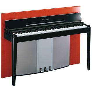 Yamaha F02 Modus Digital Piano, Polished Orange - main
