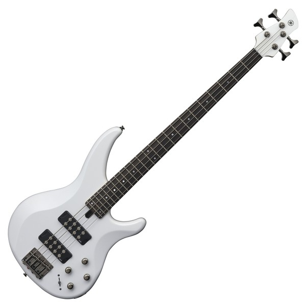 Yamaha TRBX304 Bass Guitar, White