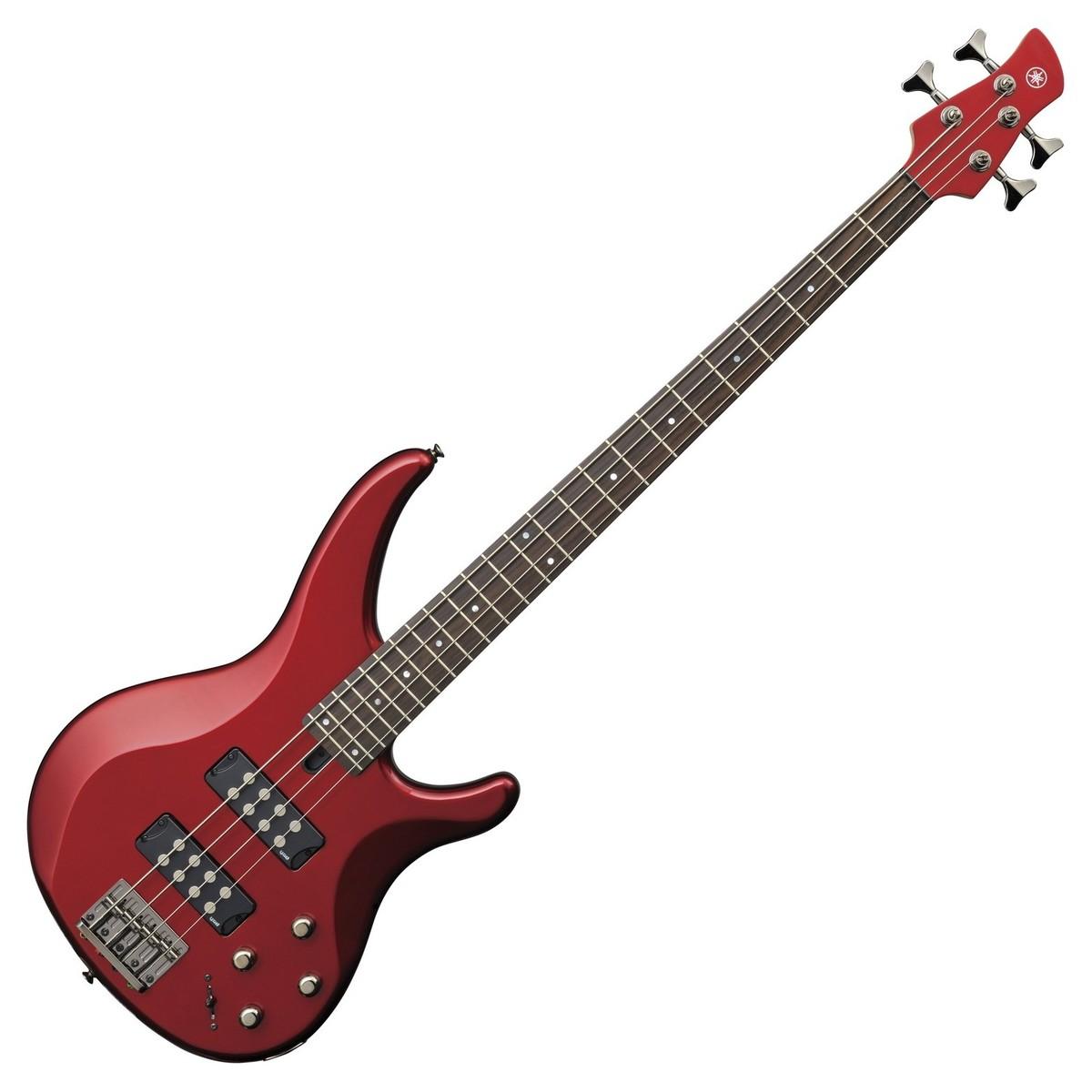 yamaha trbx304 bass candy apple red at gear4music