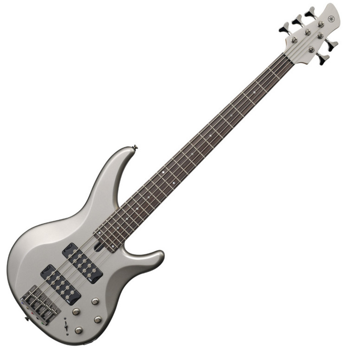 yamaha trbx305 5 string bass guitar pewter at