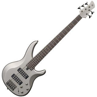 Yamaha TRBX305 5-String Bass Guitar, Pewter