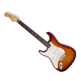 Fender Standard Stratocaster Plus Top Left-Handed, RF, Tobacco Burst