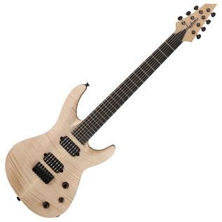 Jackson USA Select B7 7-String Electric Guitar, Au Natural