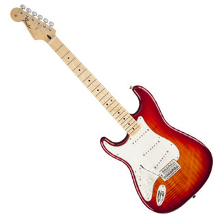 Fender Standard Stratocaster Plus Top LH, MF, Aged Cherry Burst