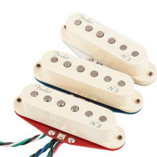 Fender N3 Noiseless Strat Pickups, Set of 3