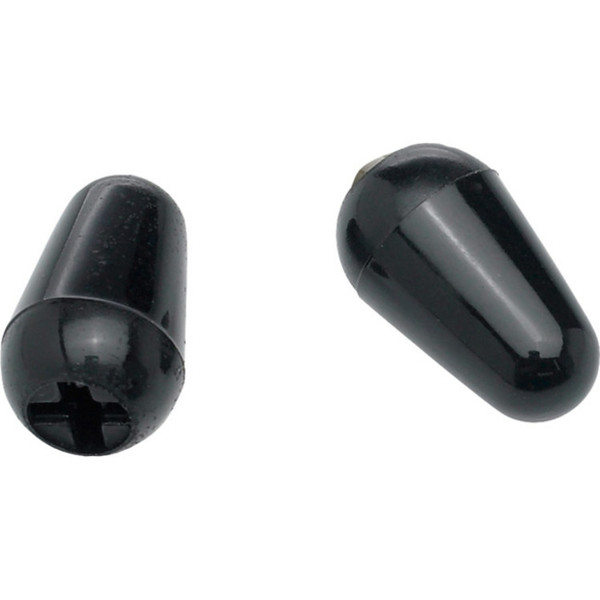 Fender Stratocaster Switch Tips, Black