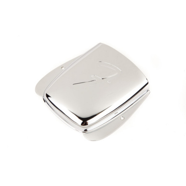 Fender Vintage Style Jazz Bass 'F' Bridge Cover, Chrome