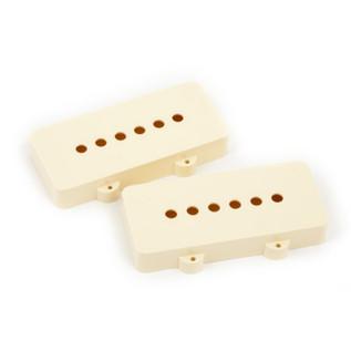Fender Jazzmaster Pickup Covers, Aged White