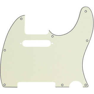Fender 8-Hole Mount Telecaster Pickguard, 3-Ply Mint Green