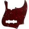 Fender 10 trous contemporain Jazz Bass Pickguard, écaille de tortue 4 plis