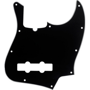 Fender 10-Hole Contemporary Jazz Bass Pickguard, 3-Ply Black