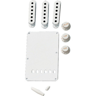 Fender Vintage-Style Stratocaster Accessory Kit, White