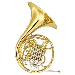 Yamaha YHR667 Professional Double French Horn, Gold